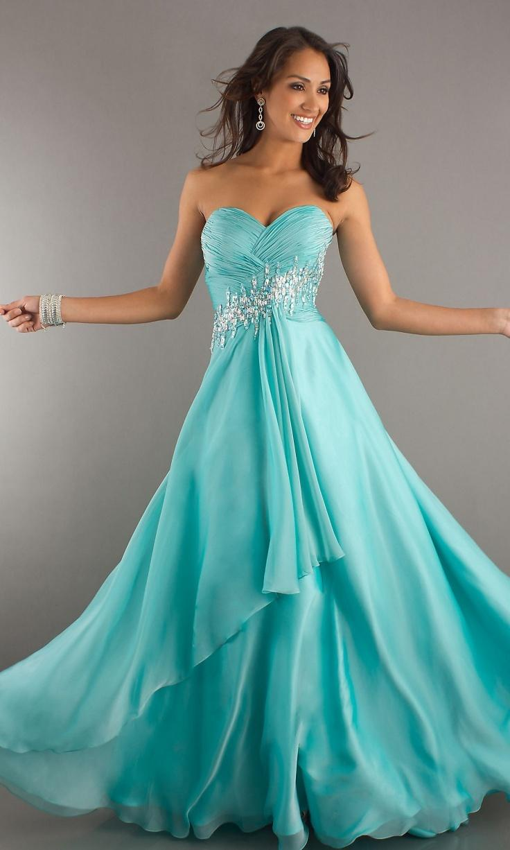 Stunning Aqua Prom Dresses Pictures - Styles & Ideas 2018 - sperr.us