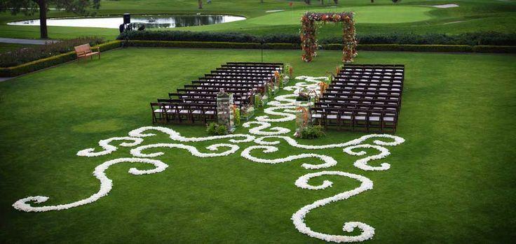 Outdoor wedding wedding ceremony aisle ideas 2059346 weddbook wedding ceremony aisle ideas junglespirit Images