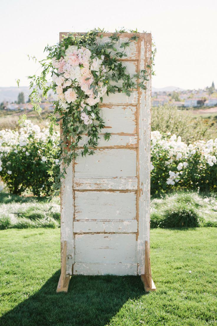 shabby wedding rustic ceremony backdrop 2059464 weddbook. Black Bedroom Furniture Sets. Home Design Ideas