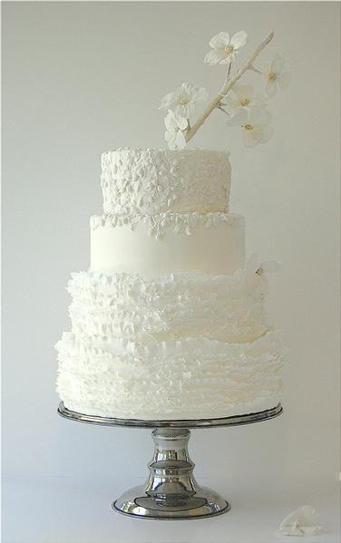Un gâteau de mariage tout blanc, oui ou non ? 2