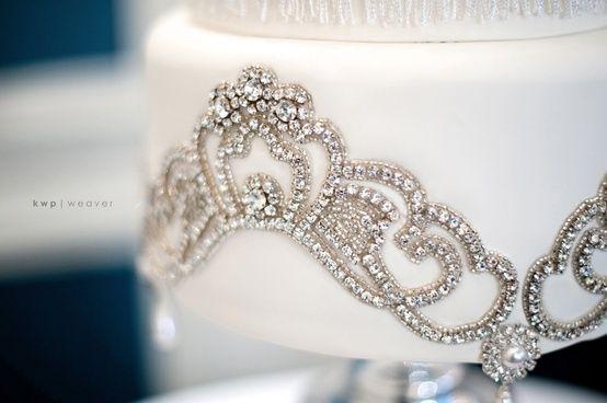 Wedding - White & Gold Wedding Cakes