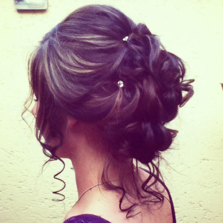 Gallery For gt; Prom Hairstyles Pinterest