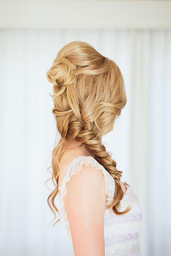 Wedding Hairstyles - Mermaid Wedding Hair #2059695 - Weddbook