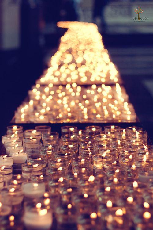 Wedding - Candle Light!