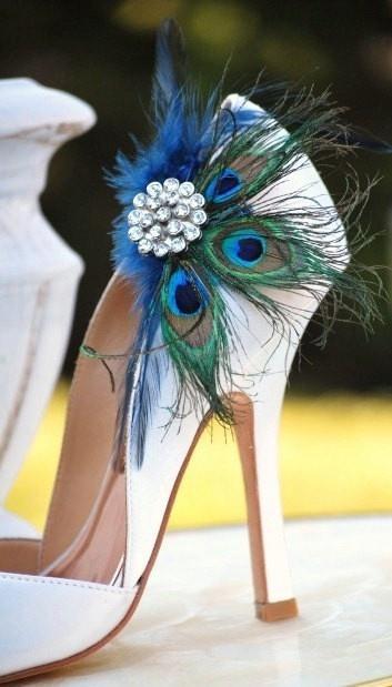 Свадьба - Павлин Свадебная Обувь