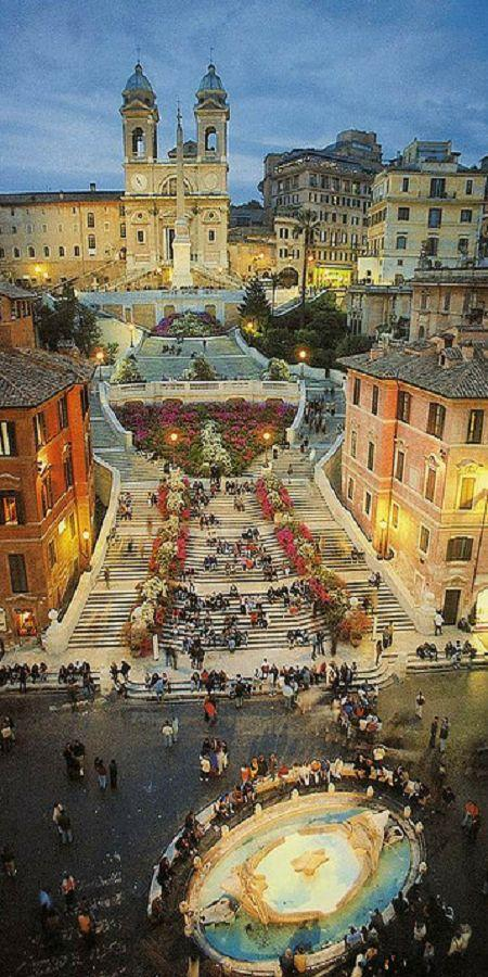 Italy Honeymoon Piazza Di Spagna Roma Italy 2059765 Weddbook