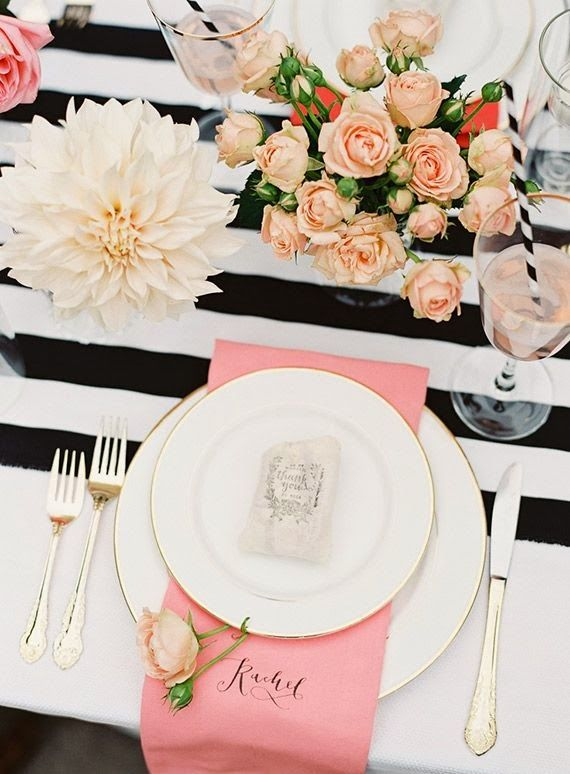 Pretty Table Setting : pink table settings - pezcame.com