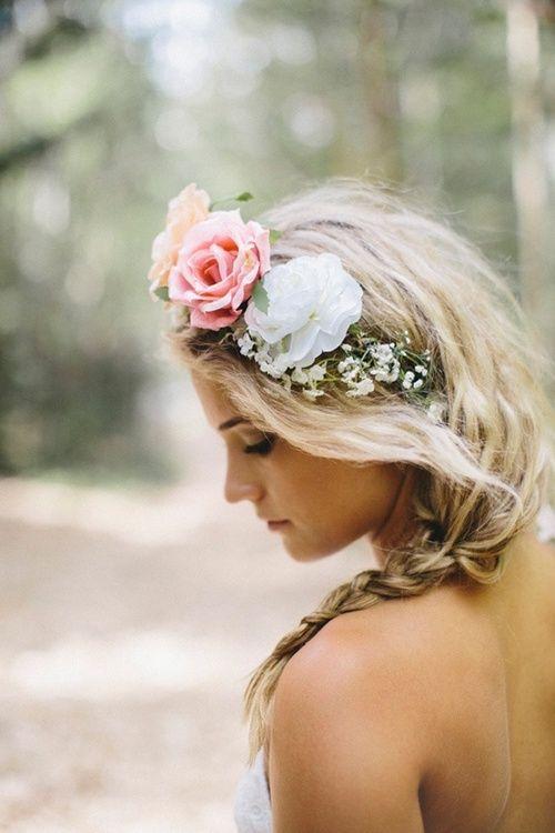 Hochzeit - Böhmische Braut-Haar