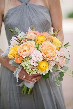 Hochzeit - Peach Yellow Hochzeit am Meer
