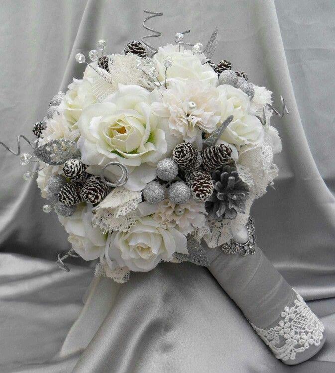 Букет на свадьбу зима — 1