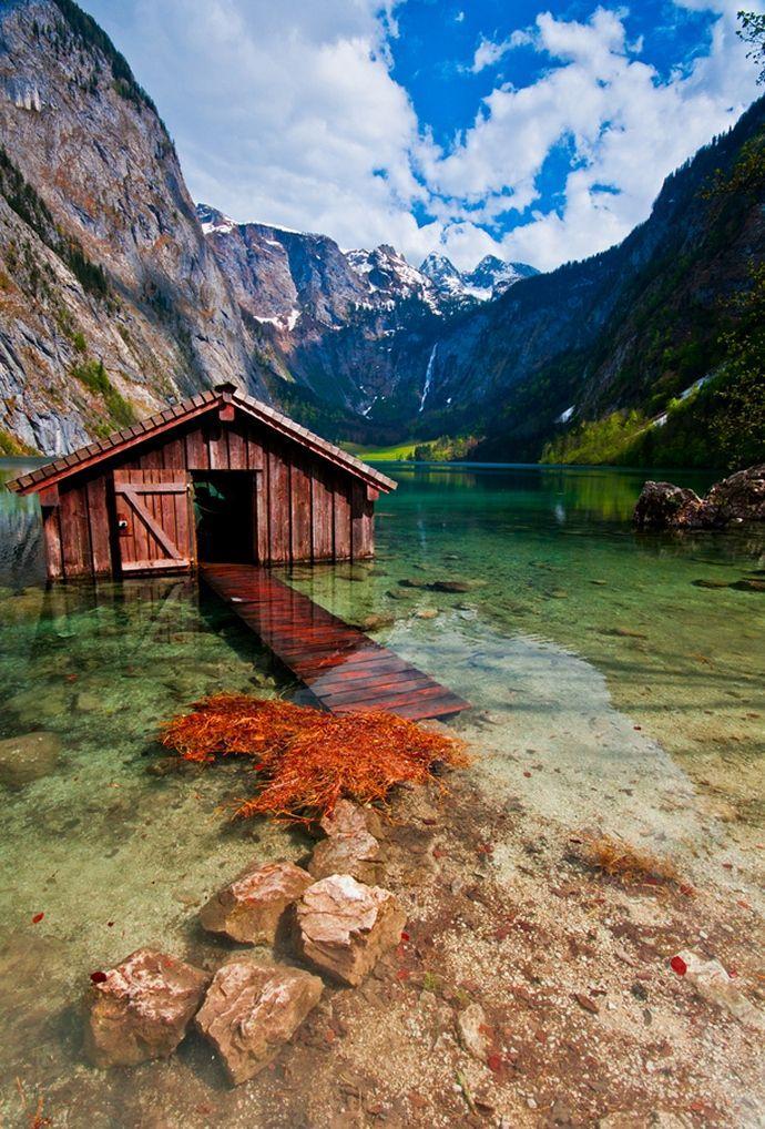 Wedding - Boathouse, Obersee Lake, Germany