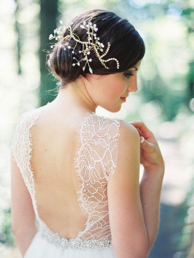 Hochzeit - Hochzeits-Haar-Stück