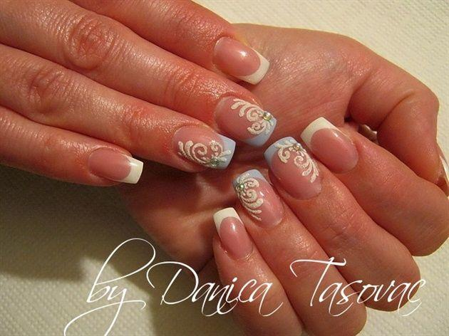 Wedding Nail Designs Bridal Wedding Nail Art 2060376 Weddbook