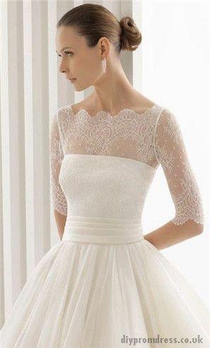 Boda - Encaje vestido de novia