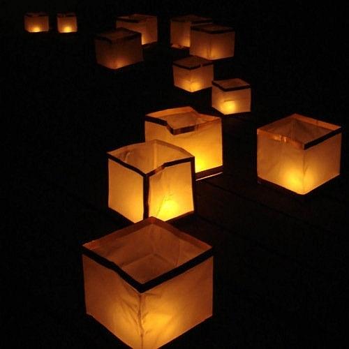 Wedding - Floating Pool Lanterns