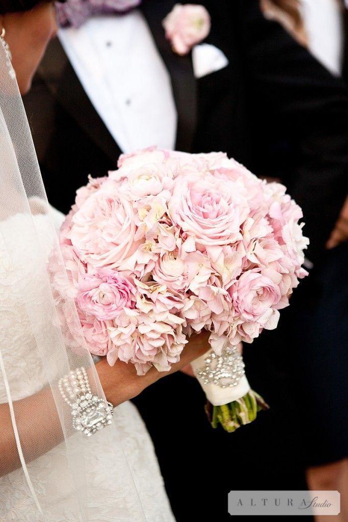 Blush Wedding - Hydrangea And Peonies Bouquet #2061084 - Weddbook