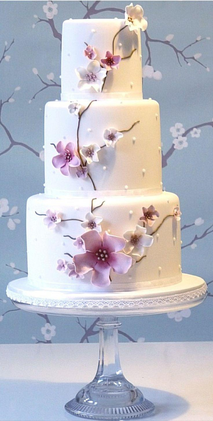 cherry blossoms wedding cherry blossom wedding cake 2061561