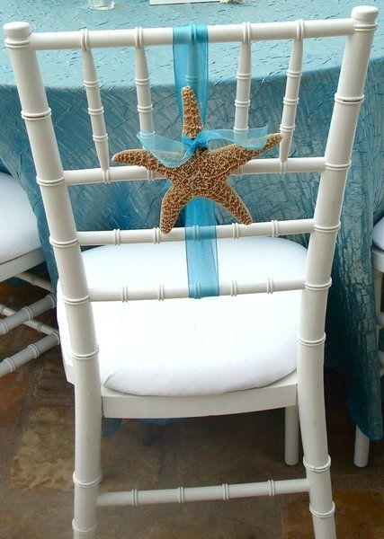 Summer wedding interesting reception chair decoration for Decorating chairs for wedding reception