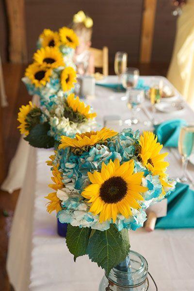 Hochzeit - Hochzeits-Ideen durch Farbe: Blau