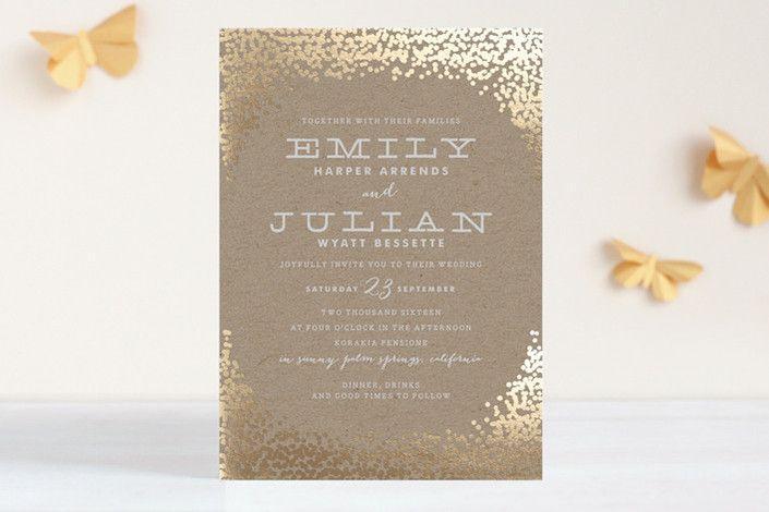 Hochzeit - Papier, Einladungen, Save-the-Dates, Menü-Karten usw.!