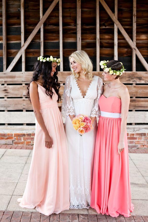 Hochzeit - Weinlese-Pfirsich Hochzeits-Ideen aus Großbritannien