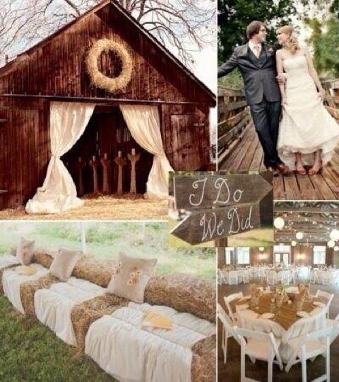 Свадьба - Идеальный Сарай Свадьбы