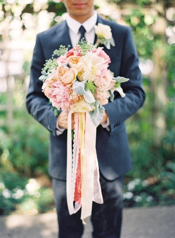 Hochzeit - Peach, Pastell, Farbband.