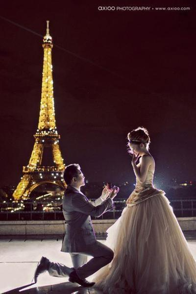 Wedding Proposal Proposal In Paris Too Perfect 2062354 Weddbook