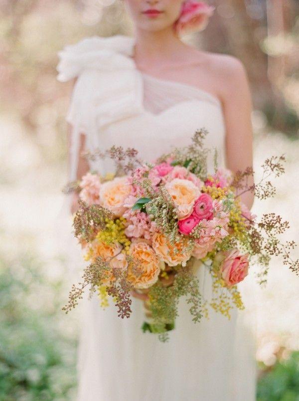Wedding Wildflower Bouquet For Spring