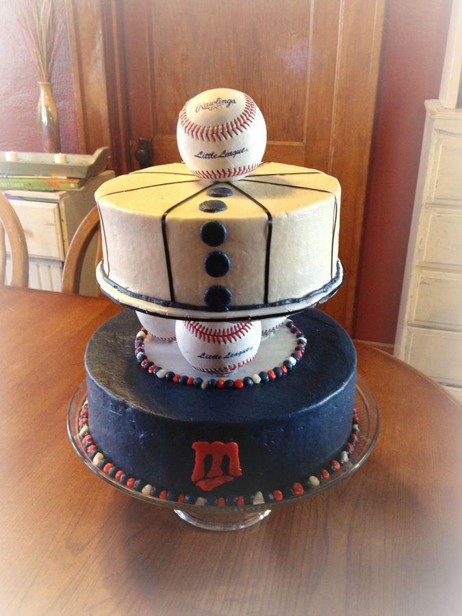 Wedding - Minnesota Twins Birthday Cake