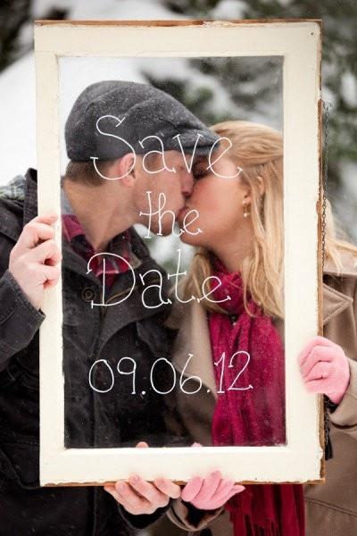 Mariage - Sauvez les idées de date #