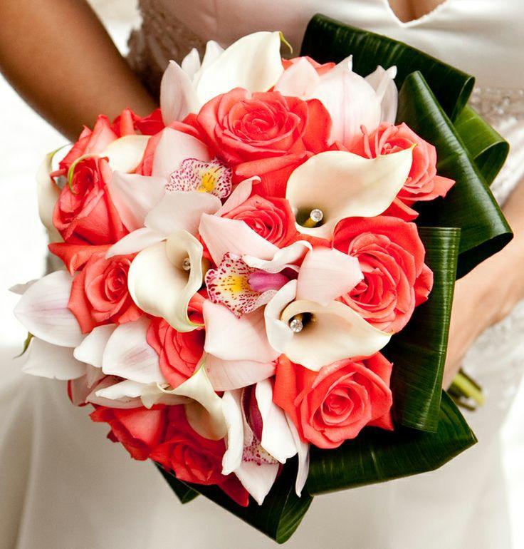 Tropical wedding coral white 2062630 weddbook coral white mightylinksfo