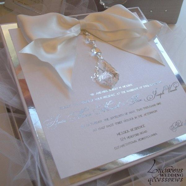 Invitation Couture Luxury Wedding Invitations 2062852 Weddbook