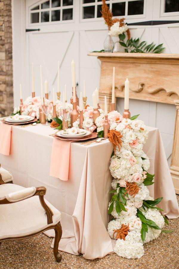 Peach Wedding Rose Gold Inspiration 2062895