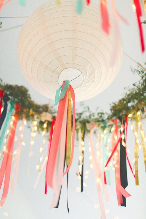 Свадьба - Круглые Бумажные Фонари