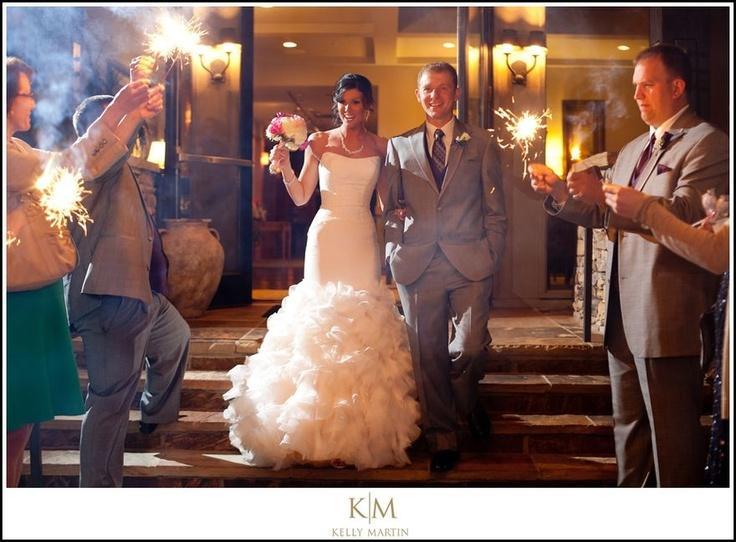 Свадьба - Великолепный Выход Sparkler