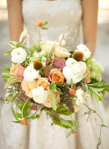 Hochzeit - Lose And Lovely Blumenstrauß
