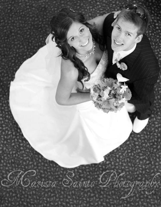 Hochzeit - Hochzeits-Pose!