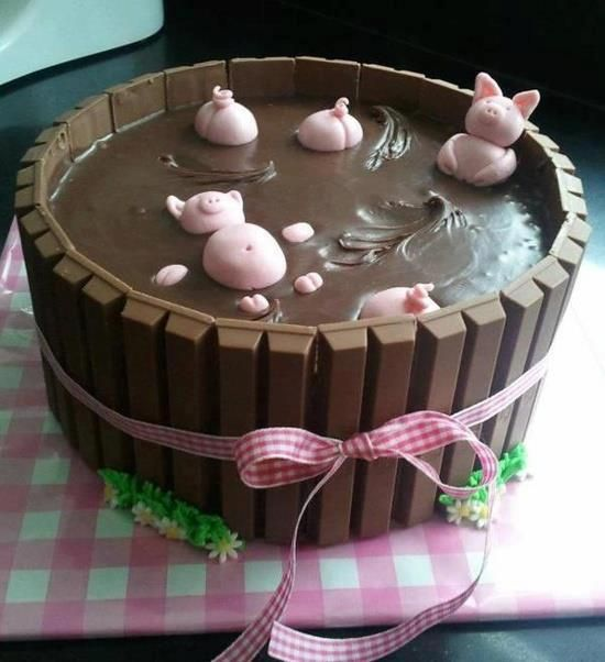 Exceptional The Cutest Cake!! Images