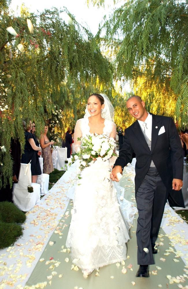 Hochzeitskleid Jennifer Lopez