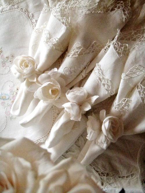 Свадьба - Салфетки С Пионом Кольца
