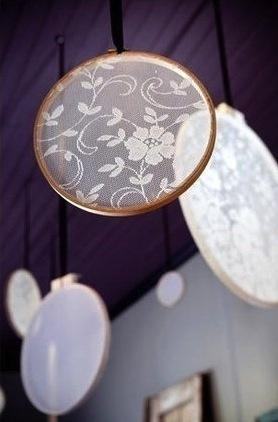 Hochzeit - Lace Ringe By The Nook Papery