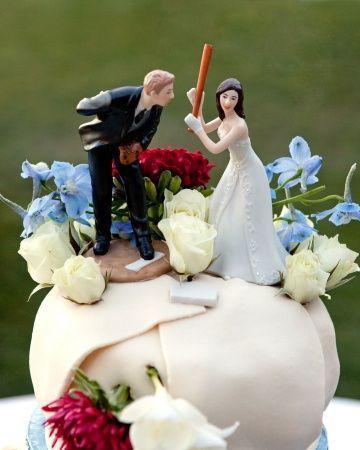 زفاف - كعكة القبعات العالية