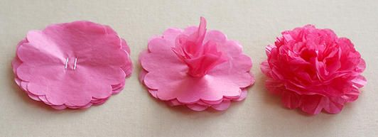 Spring wedding easy paper flowers 2063546 weddbook easy paper flowers mightylinksfo