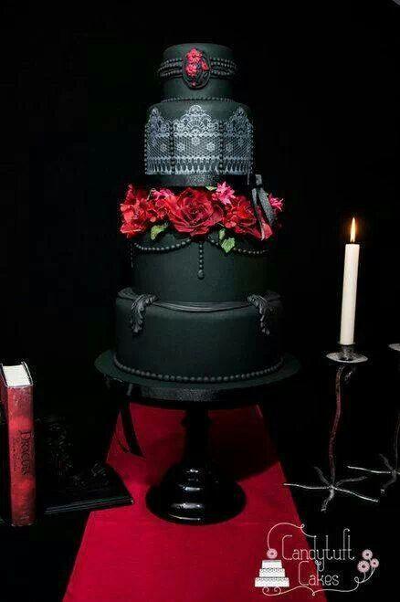 Gotische Hochzeit Gothic Hochzeitstorte 2063753 Weddbook