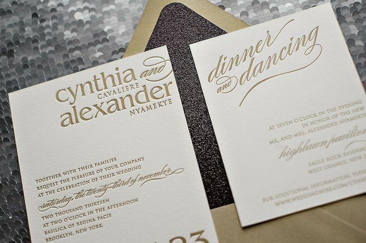 Mariage - Invitations la main