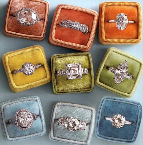 زفاف - خمر الماس خواتم الخطبة