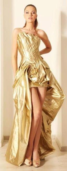 Свадьба - Платья...Glamorus Золота