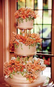 Calla Lilien Hochzeits Bouquet Hochzeitstorte Mit Orange Calla