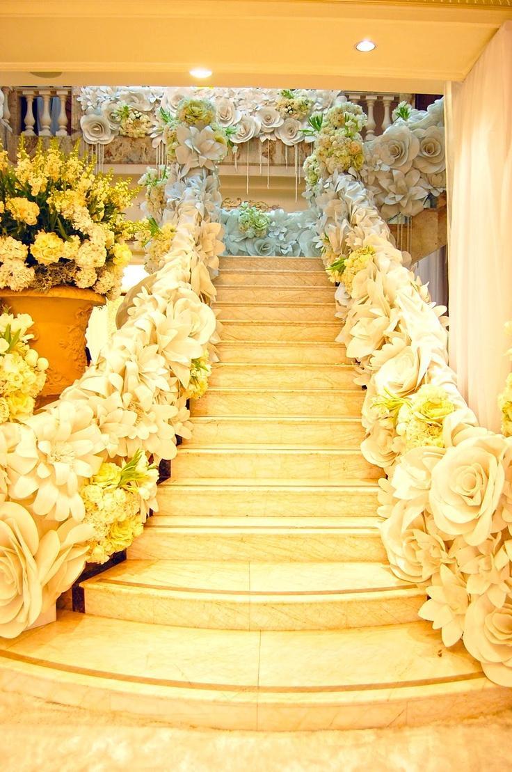 Modern Wedding Giant Paper Flower Decor 2064091 Weddbook